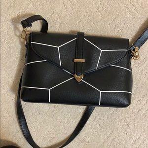 shein faux leather crossbody bag